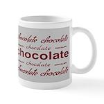 Silver Celebrate Chocolate Mug