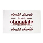 Celebrate Chocolate 3'x5' Area Rug