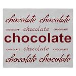 Silver Celebrate Chocolate King Duvet