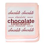 Celebrate Chocolate Baby Blanket