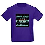 Celebrate Chocolate Kids Dark T-Shirt