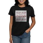 Celebrate Chocolate Women's Dark T-Shirt