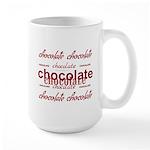 Celebrate Chocolate Large Mug