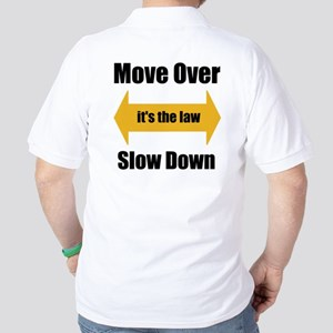 Move Over Safety Golf Shirt