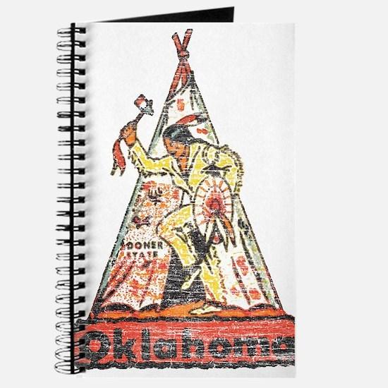 Vintage Oklahoma Indian Journal