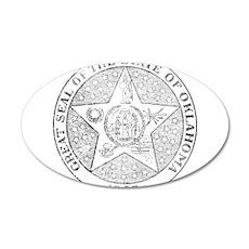 Vintage Oklahoma State Seal Wall Decal