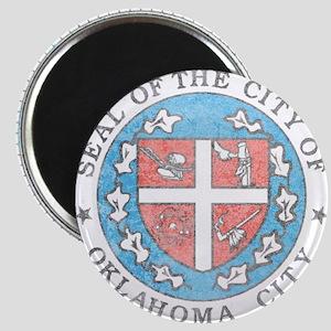 Vintage Oklahoma City Magnet
