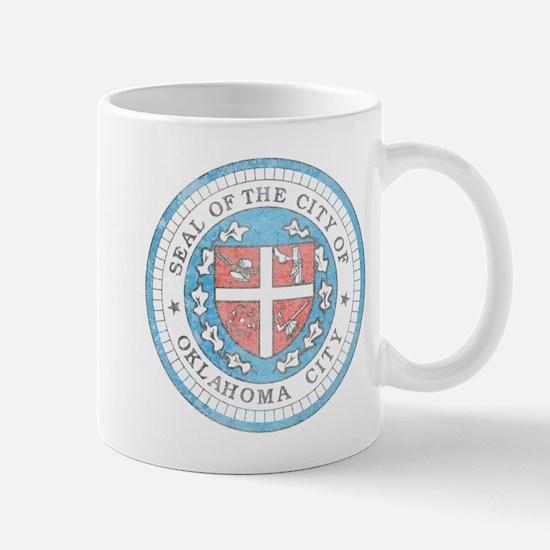 Vintage Oklahoma City Mug