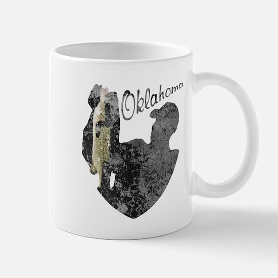 Oklahoma Fishing Mug