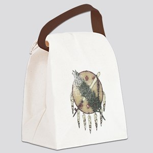 Faded Dreamcatcher Canvas Lunch Bag