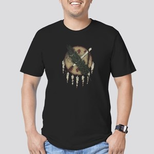Faded Dreamcatcher Men's Fitted T-Shirt (dark)