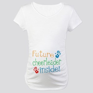 Cheerleader Maternity T-Shirt