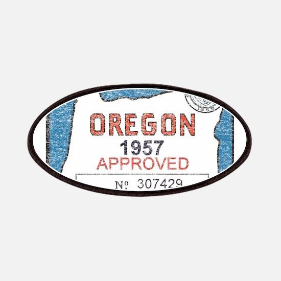 Vintage Oregon Registration Patches
