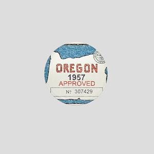 Vintage Oregon Registration Mini Button