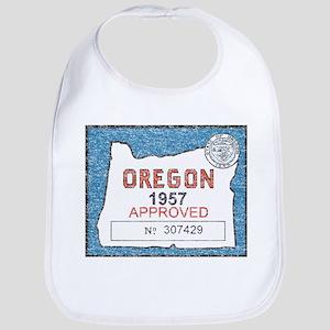 Vintage Oregon Registration Bib