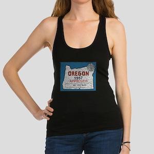 Vintage Oregon Registration Racerback Tank Top