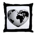 World Worth Wandering Throw Pillow