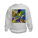 The City I Abstract Kids Sweatshirt