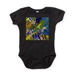 The City I Abstract Baby Bodysuit