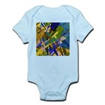 The City I Abstract Infant Bodysuit