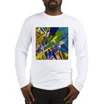 The City I Abstract Long Sleeve T-Shirt