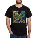The City I Abstract Dark T-Shirt