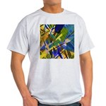 The City I Abstract Light T-Shirt