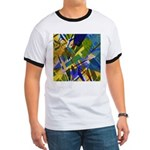 The City I Abstract Ringer T