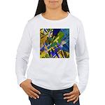 The City I Abstract Women's Long Sleeve T-Shirt