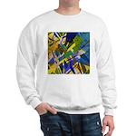 The City I Abstract Sweatshirt
