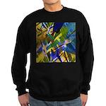 The City I Abstract Sweatshirt (dark)