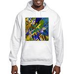 The City I Abstract Hooded Sweatshirt