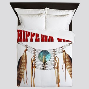Proud to be Chippewa-Cree Queen Duvet