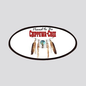 Proud to be Chippewa-Cree Patches