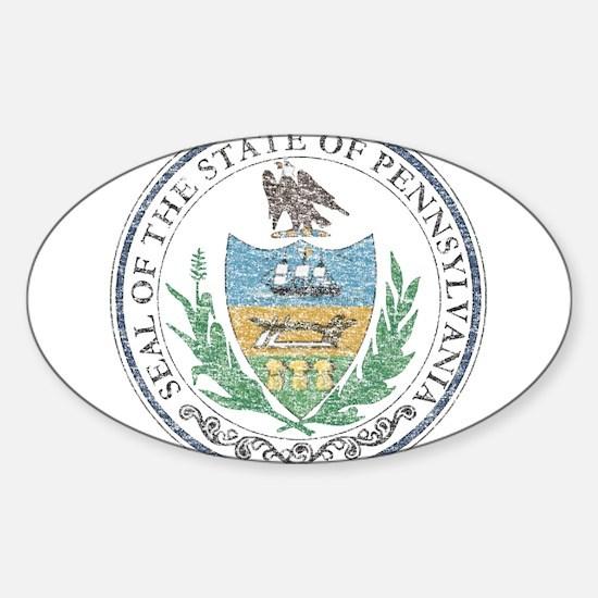 Vintage Pennsylvania Seal Decal