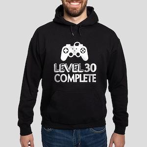 Level 30 Complete Birthday Designs Hoodie (dark)