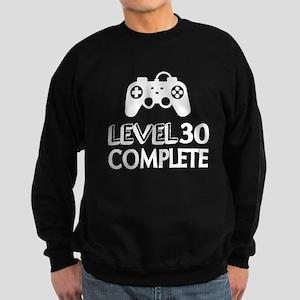 Level 30 Complete Birthday Desig Sweatshirt (dark)
