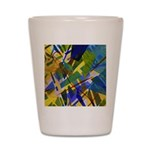 The City I Abstract Shot Glass