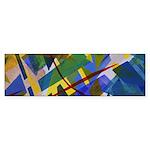 The City I Abstract Sticker (Bumper 10 pk)