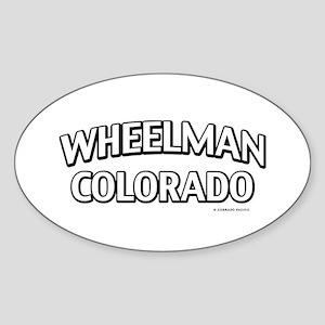 Wheelman Colorado Sticker