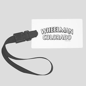 Wheelman Colorado Luggage Tag