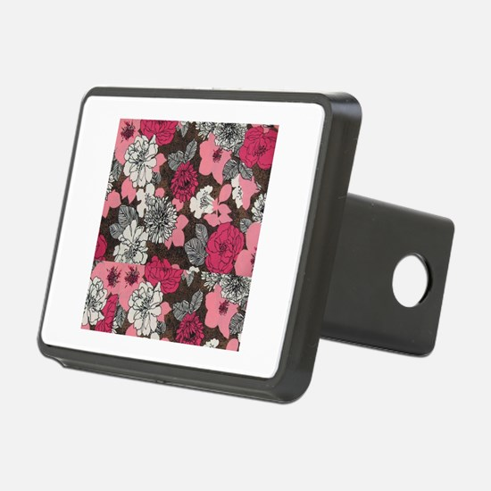 flower collage Hitch Cover