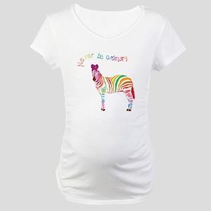 Never Be Ordinary Maternity T-Shirt