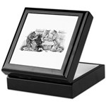 Poker Playing Cats Keepsake Box