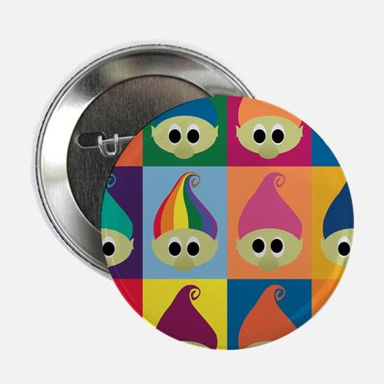 "Troll Army, Rainbow Leader 2.25"" Button"