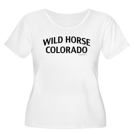 Wild Horse Colorado Plus Size T-Shirt
