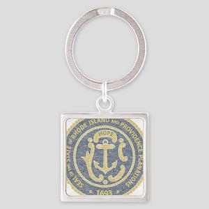 Vintage Rhode Island Seal Keychains