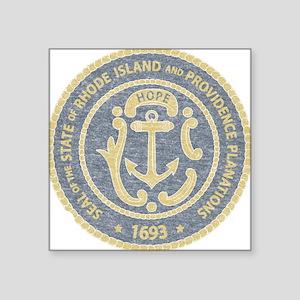 Vintage Rhode Island Seal Sticker