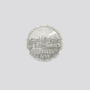 Newport Rhode Island Vintage Seal Mini Button