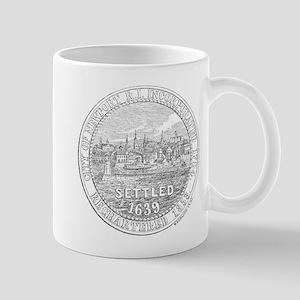 Newport Rhode Island Vintage Seal Mug